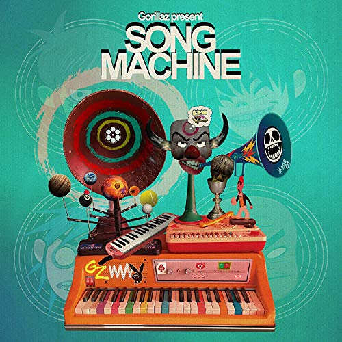Gorillaz Presents Song Machine, Season 1- Limited Edition 1 x 140g 12' Vinile Blu- Esclusiva Amazon.It