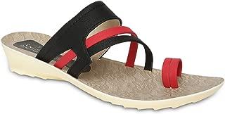PARAGON SOLEA Women's Red Flip-Flops