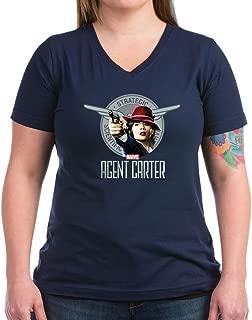 Agent Carter SSR Women's V Neck V-Neck T-Shirt