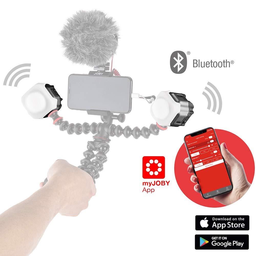 JOBY Beamo Luz LED para Smartphone y Cámaras Sin Espejos: Amazon ...