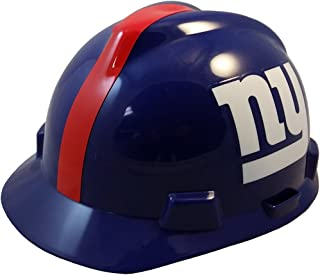MSA NFL Ratchet Suspension Hardhats with Hard Hat Tote