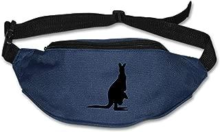 Running Belt Waist Pack, Sports Runner Bag Pouch Adjustable Fanny Pack Men Women Hiking Fitness Jogging -Australia Kangaroo