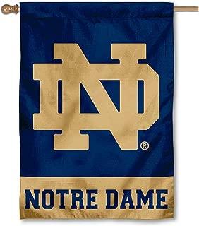 Notre Dame House Flag ND Logo