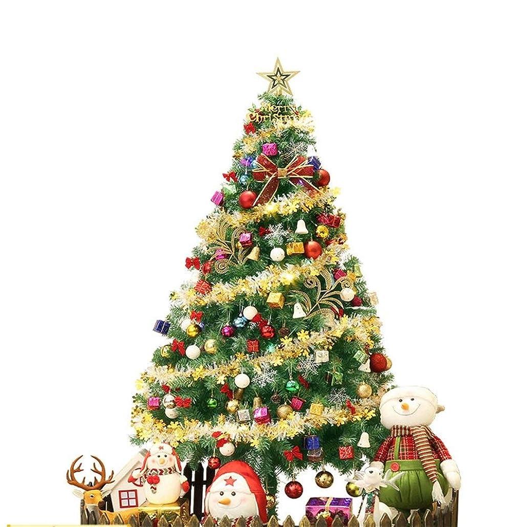 植生活力黒HN クリスマスツリーセット、休日の装飾、会場レイアウト、クリスマスプレゼント (Size : 2.1m)