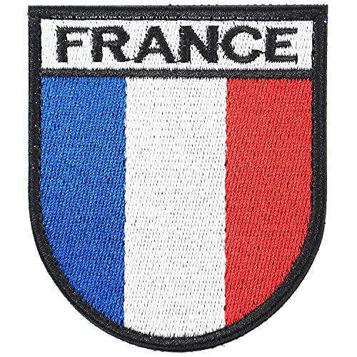 Ecusson Scratch Patch France - Patch Scratch pour Gilet lesté|Patch Airsoft replique, Airsoft Gilet tactique militaire, sac a dos, veste militaire homme,gilet par balle,Patch Doudoune