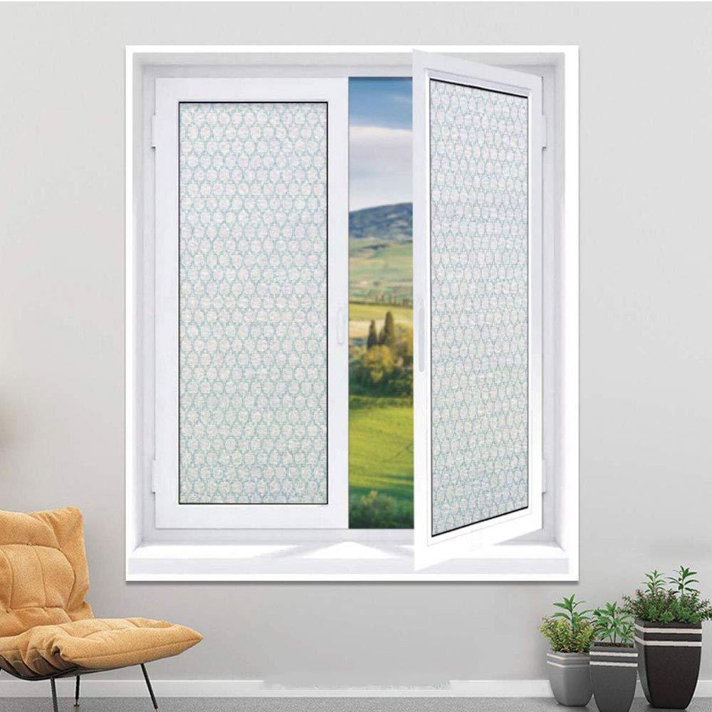 Película decorativa para ventana con privacidad personalizada, película de cristal 3D para el hogar, cocina, baño, oficina, sala de reuniones, sala de estar, decoración de animales, pareja de ratones sentados en el