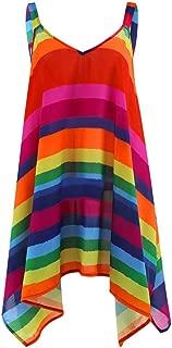 Best plus size rainbow clothes Reviews