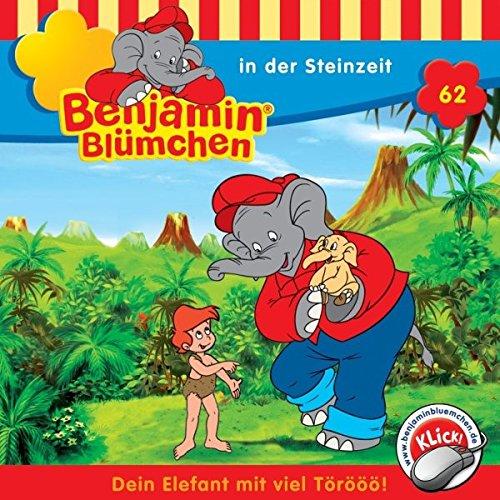 Benjamin in der Steinzeit cover art