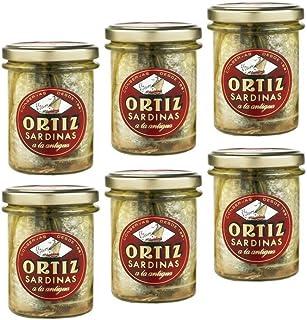 Ortiz Sardines - Glass Jar (6-pack)