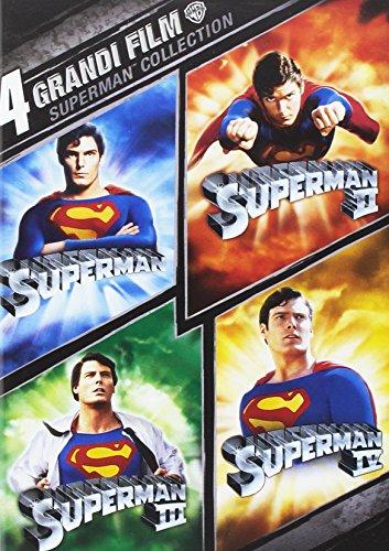 4 grandi film - Superman collection [4 DVDs] [IT Import]