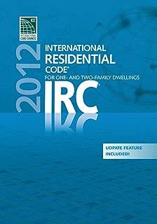2012 International Residential Code (PDF CD) - Single Seat (International Code Council Series)
