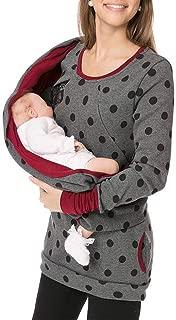 Sudadera de Lactancia Materna con Bufanda de Maternidad