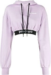 PALM ANGELS Luxury Fashion Womens PWBB012E196310032501 Purple Sweater | Fall Winter 19
