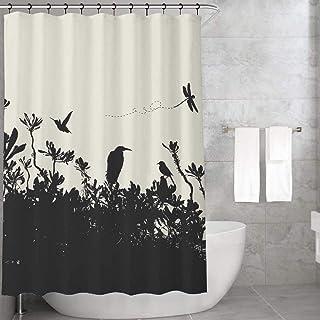 Bonamaison Anti-Bacterial Shower Curtain, 1 Piece 155X220 Cm - Designed And Manufactured in Turkey