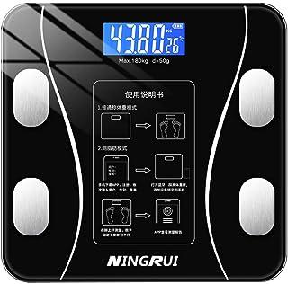 Báscula Grasa Balanzas Electrónicas Báscula De Cuerpo Led Hogar Inteligente Body Fat Bmi Monitor Analizador De Fitness Digital Balanza De Pesaje