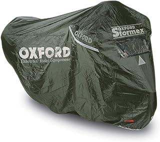 Capa de motocicleta Oxford Stormex, preta, média (CV331)