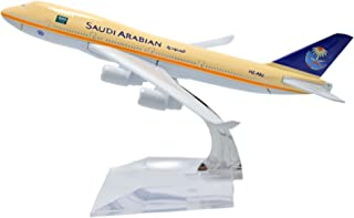 TANG DYNASTY(TM) 1:400 16cm Boeing B-747 Saudi Arabian Airlines Metal Airplane Model Plane Toy Plane Model