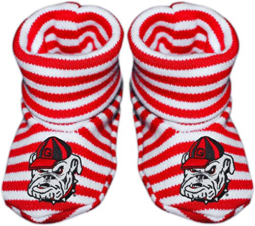 georgia bulldogs baby crib set - 3