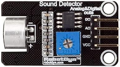 Sandy Ckingys 10 Unidades de micrófono módulo de medición de Sonido, Tablero de Sensor de Voz con Digital y analógico