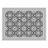 contento Tovaglietta in vinile, grigio, 30 x 40 cm
