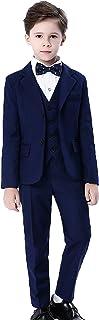 (コ-ランド) Co-land 子供服 フォーマル スーツ 男の子 5点セット 紳士服 ボーイズ 入学式 発表会 結婚式 ジャケット シャツ ズボン ベスト 蝶ネクタイ
