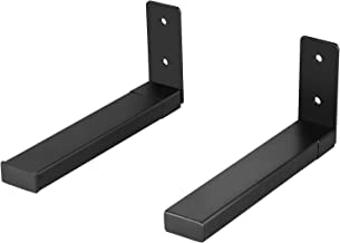 WALI Universal Center Channel Speaker Wall Mount Dual Bracket Holder Stands Hold up to..