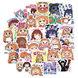 VASTAIR 40 PCS/Set Himouto Umaru-chan,Japanese Anime Cartoon Laptop Stickers Waterproof Stickers Sheet for Skateboard Pad Car Snowboard Bicycle Luggage Décor(40pcs)