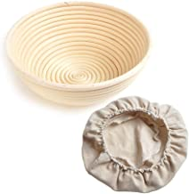 1Pcs Round Bread Proofing Basket Rattan Banneton Brotform Sour Dough proofing Artisan Bread