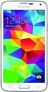 Samsung Galaxy S5 G900V 16GB Verizon Smartphone w/ 16MP Camera - White (Renewed)