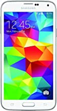 Samsung Galaxy S5 G900V 16GB Verizon Smartphone w/ 16MP Camera - White (Renewed)