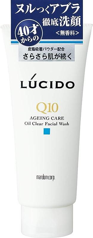 韓国語左共感するLUCIDO(ルシード) オイルクリア洗顔フォーム Q10 130g