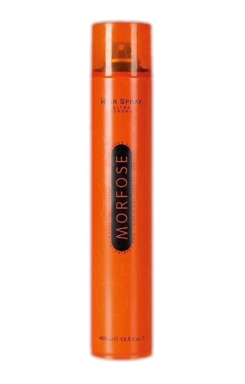 亡命摂氏低いMorfose MORFOSE HAIRはMORFOSEによってULTRA STRONG 400ミリリットルスプレー