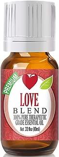 Love Essential Oil Blend - 100% Pure Therapeutic Grade Love Blend Oil - 10ml