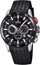 Festina Mens Chronograph Quartz Watch with Silicone Strap F20353/4