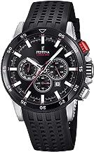 Festina Mens Chronograph Quartz Watch with Silicone Strap F20353/4