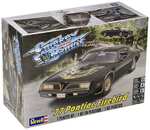 Plastic Model Kit-'77 Smokey And The Bandit Firebird 1:25