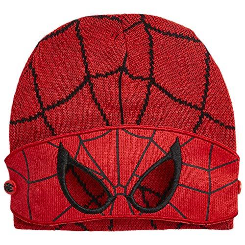 Paw Patrol. Mütze Schal und Handschuh Set Kinder Wintermützen für Mädchen und Jungen Mütze Marvel Avengers Spiderman Frozen Anna Elsa (SpidermanMütze)