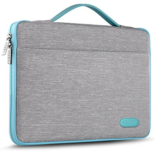 Hseok Maletin Portatil 15 15,6 16 Pulgadas Funda Protectora Delgada Impermeable para MacBook Pro 15 16 y 15'-16' Laptop Ultrabook Chromebook, DELL HP Lenovo Acer Ausu y más, Gris