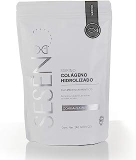 SESĒN suplemento Alimenticio Colágeno Hidrolizado en polvo de origen Marino