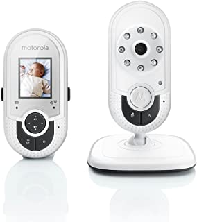 Motorola MBP421 1.8 INCH Video Baby Monitor White Audio Video LCD Display