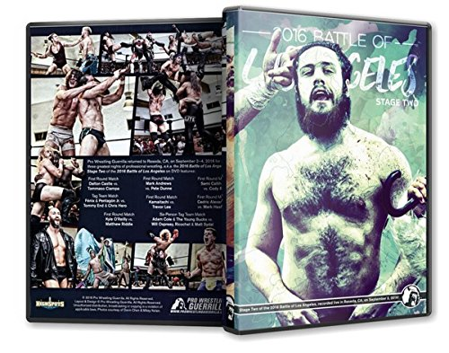 Pro Wrestling Guerrilla - Battle of Los Angeles 2016- Stage Two Blu-Ray