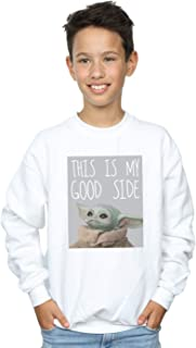 Star Wars Niños The Mandalorian The Child Good Side Camisa De Entrenamiento