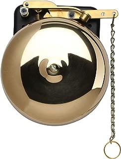 BEVIN BELLS Brass Trip Gong Boxing Bell - Wall Mount Bell for Boxing, Wrestling, Dinner, Emergency Alert - 6