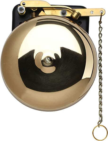 BEVIN BELLS Brass Trip Gong Boxing Bell Wall Mount Bell For Boxing Wrestling Dinner Emergency Alert 6