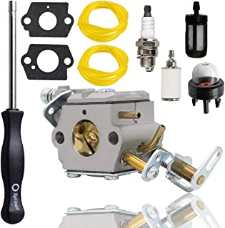 Woxla UT10519 Carburetor for Homelite 309364001 309360001 3097001 308070001 985597001 Zama C1M-H58 C1M-H58A C1M-H58B C1M-H58C C1M-H58D UT-10550 UT-10927 UT-10942 UT-10946 UT10522 UT10526 Chainsaws