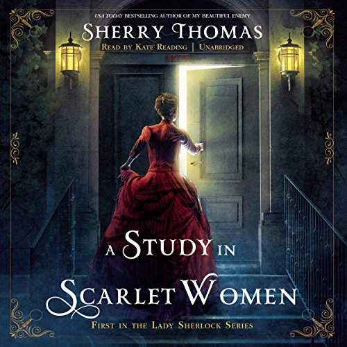 A Study in Scarlet Women audiobook cover art