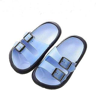 e6e50987a Cyiecw Toddler Little Kid Walking Sandals Non-Slip Beach Shoes Lightweight  Shower Pool Slippers
