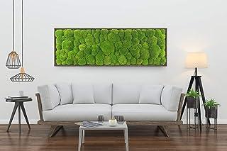 Quadro in Ball Moss,Moss Frame, quadro in muschio stabilizzato, quadro vegetale, zero manutenzione