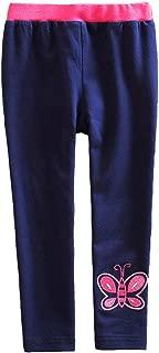 VIKITA Girls Stripe Leggings Cotton Flower Long Spring Summer Pants for 2-8 Years ?-