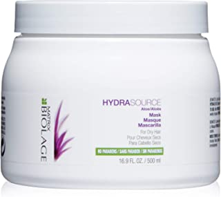 BIOLAGE Hydrasource Mask | Revives Dry Strands For Increased Hair Shine & Manageability |Paraben-Free | For Dry Hair
